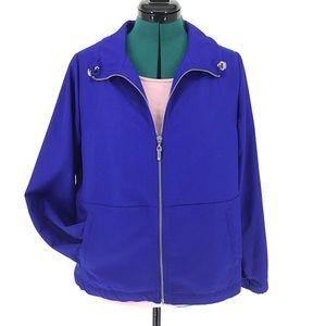 Alia Royal Blue Lightweight Jacket, Petite 8